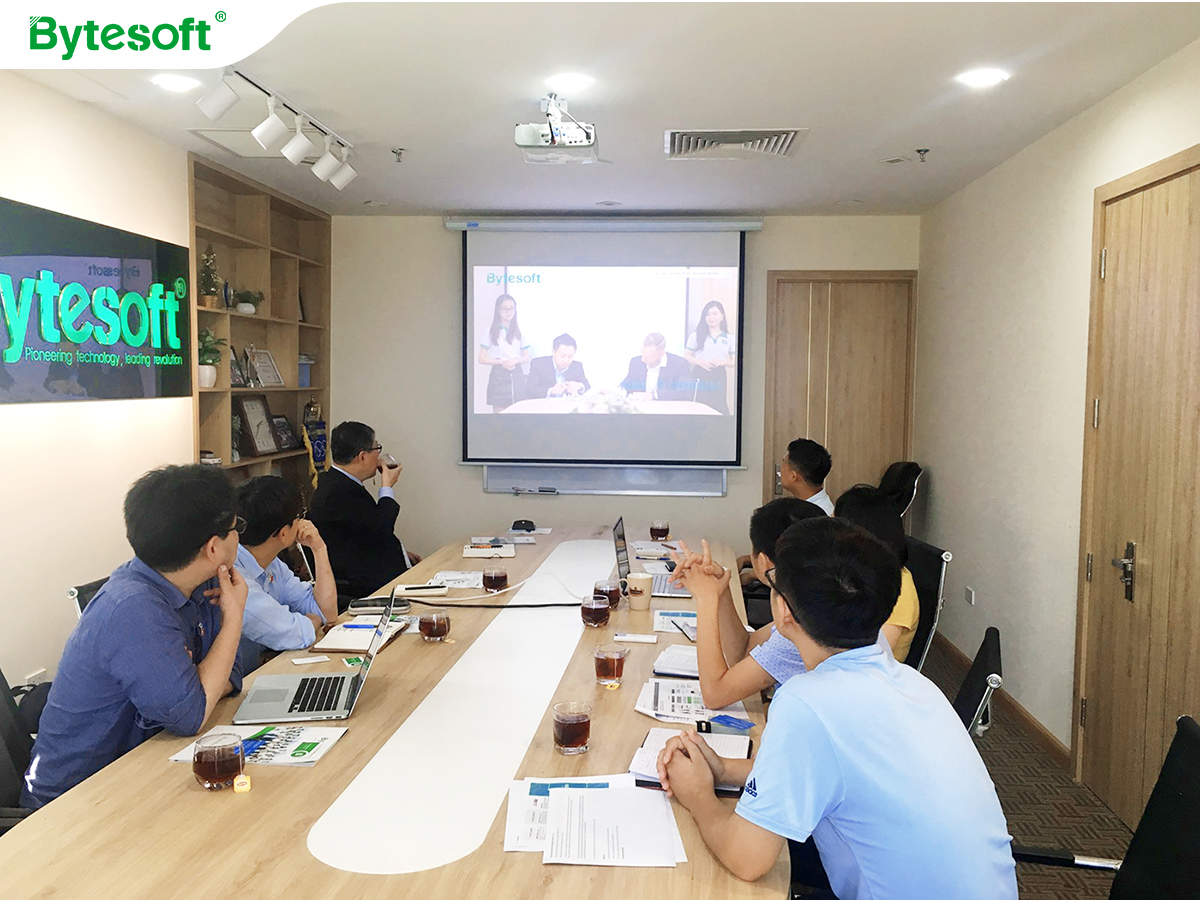Cooperated with Blockchain C&S, Bytesoft approached Korea market