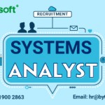 RECRUITMENT: SYSTEMS ANALYST ($300 - $600)