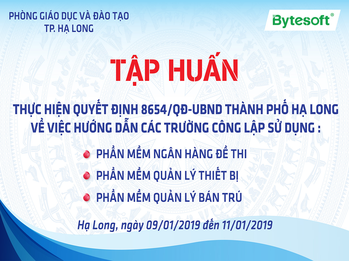 Bytesoft & 3-day training trip in Ha Long City