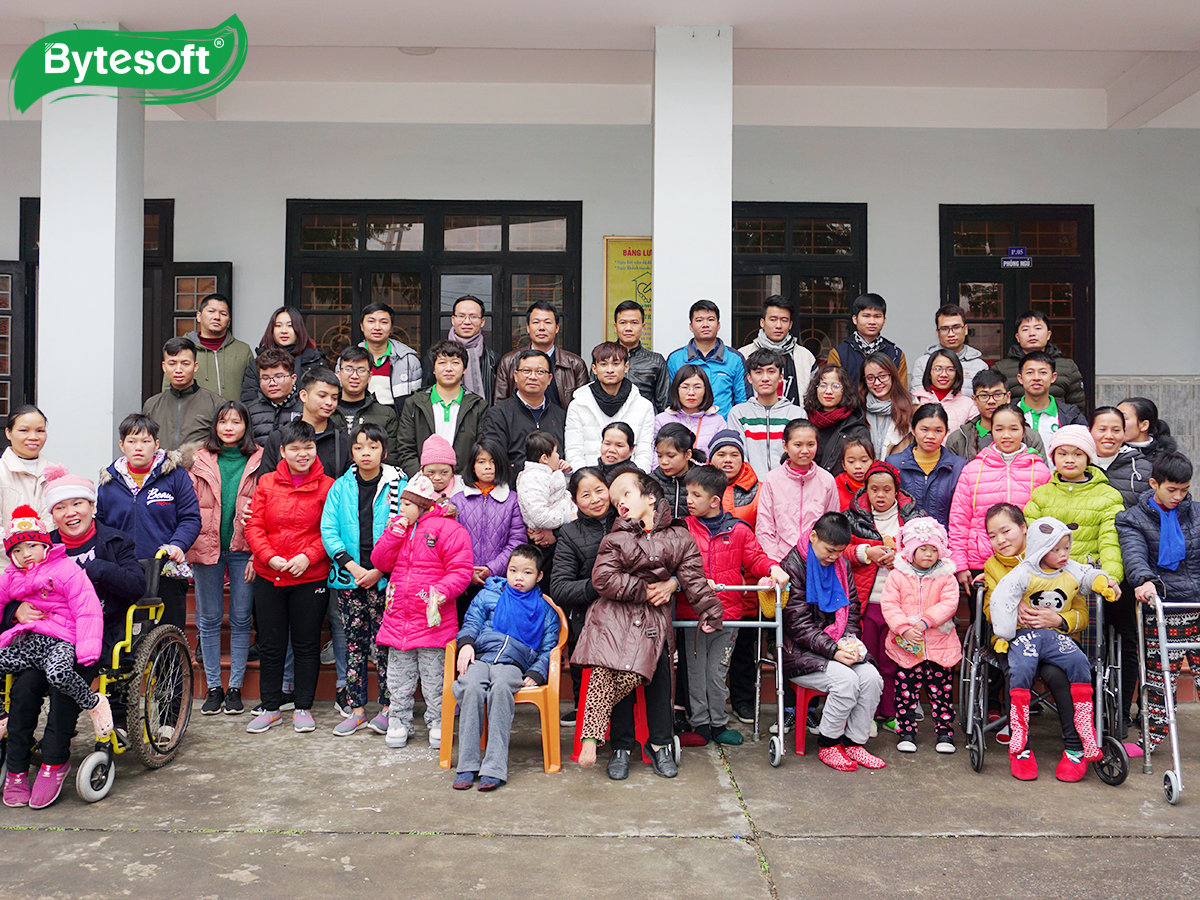 Bytesoft-er giving and helping: Charity event
